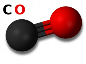 Koolmonoxide moleculen
